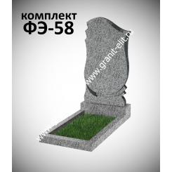 Памятник фигурный ФЭ-58, эконом, светло-серый