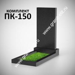 Памятник прямой, стела 2000*1000*150, Карелия